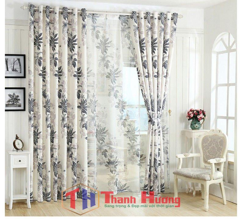 Căn phòng ngủ của bạn sẽ trở nên hiện đại cùng mẫu rèm vải voan