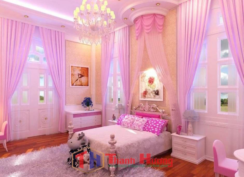 Rèm cửa phòng ngủ dành cho những nàng công chúa